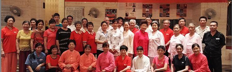 贝斯特熙园第十三期二十八式杨氏太极拳学习班开班